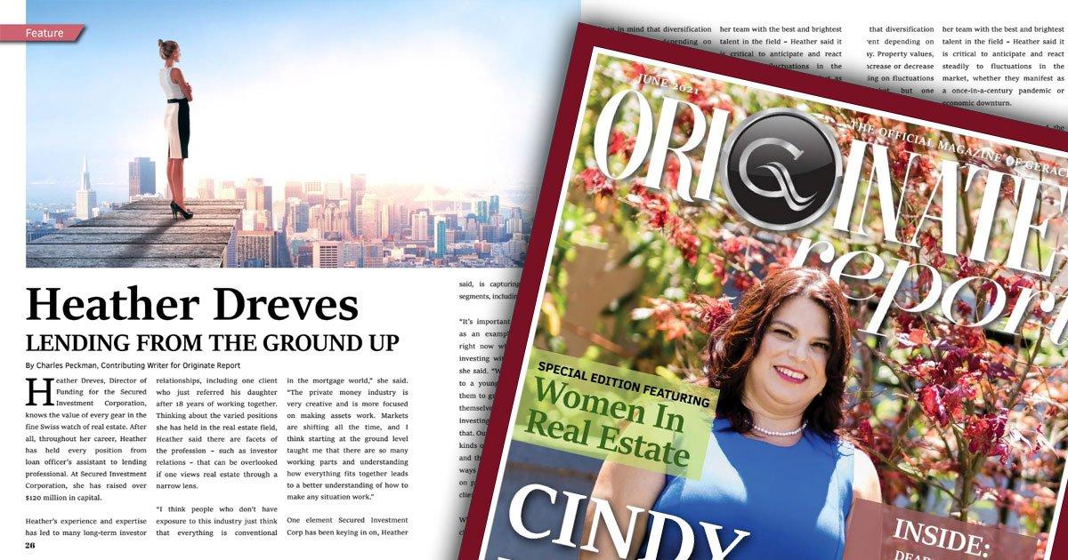 Originate Magazine features Heather Dreves